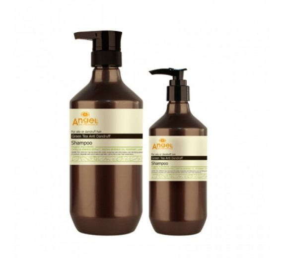 Angel Green Tea Anti Dandruff Shampoo 800 ml