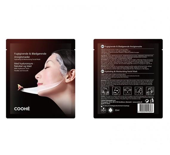 Coohé Fugtgivende og Blødgørende Ansigtsmaske