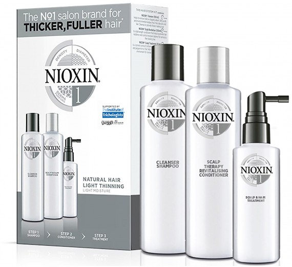 Nioxin Hair System 1 Trial Kit