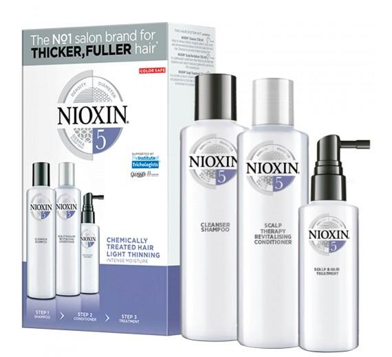 Nioxin Hair System 5 Trial Kit