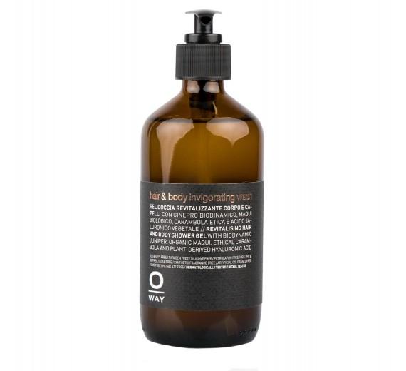 Oway Hair & Body Invigorating Wash 240 ml