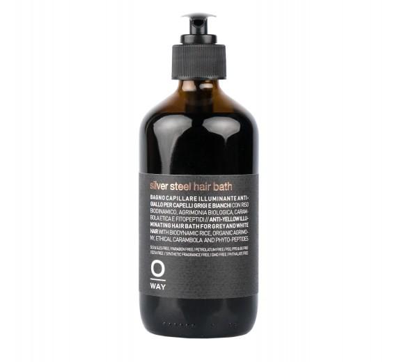 Oway Silver Steel Hair Bath 240 ml