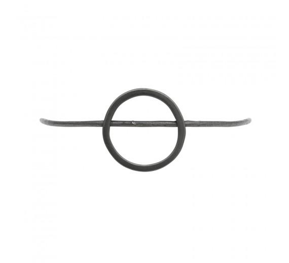 Dansk Copenhagen Tracey Circle Armbånd Hematitbelagt