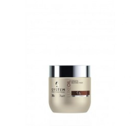 System Professional Energy Code Luxe Oil Keratin restore Mask 200 ml