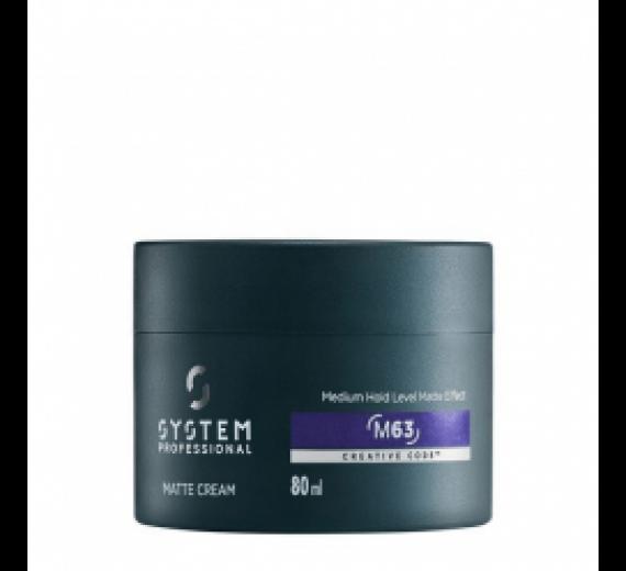 System Professional energy Code Man Matte Cream 80 ml