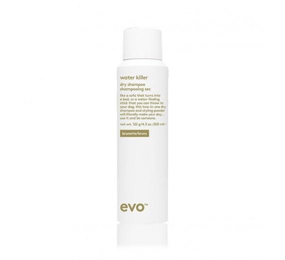 Evo Water Killer Dry Shampoo 200 ml brun