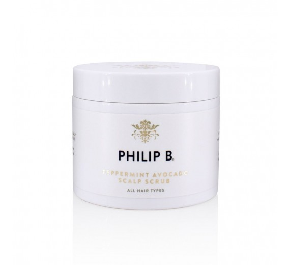 Philip B Peppermint Avocado Scalp Scrub 236 ml