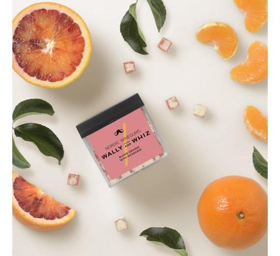 Wally Whiz Gourmet Vingummi Julespecial Blodappelsin med mandarin Cubes 140 g