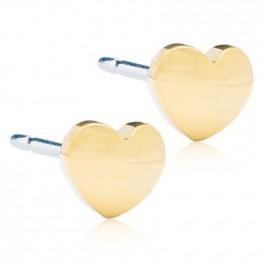 Blomdahl Heart ørering 8 mm forgyldt-20