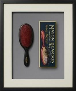 Mason Pearson børste Popular Bristle and Nylon BN, Dark Ruby-20