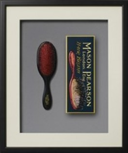 Mason Pearson børste Handy Bristle and Nylon BN3, Dark Ruby-20