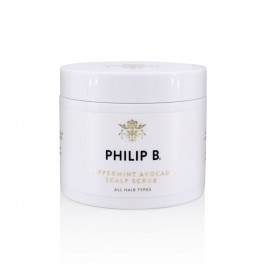 PhilipBPeppermintAvocadoScalpScrub236ml-20