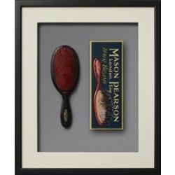 Mason Pearson børste - Popular Bristle & Nylon BN, Dark Ruby