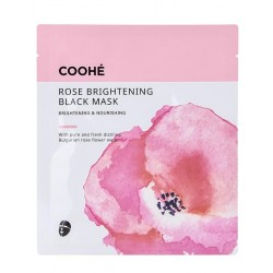 Coohé Rose Brightening Black Mask